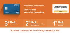 Amazon Rewards Visa Signature Credit Card Review
