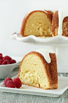 Lime Coconut Sour Cream Bundt Cake | My Baking Addiction