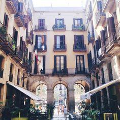 barcelona, plaça reial