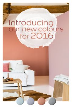 How to use our beautiful new shades for 2016 in your colour schemes.