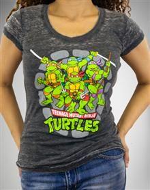 My little Pony and Teenage Mutant Ninja Turtle Sizes S NWT Girls Tops L M