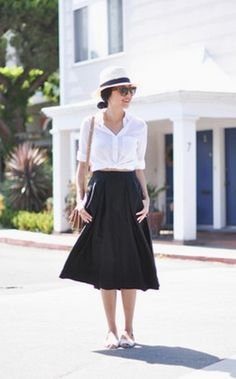 This outfit is great! Perfect for a dressy occasion, a day at the office, or a meal with friends!