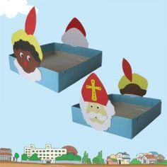 Trakteerdoos Sint en Piet