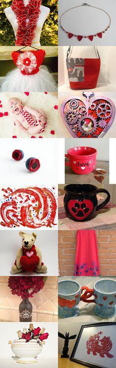 Beautiful Reds by Aeshnidae Aesthetics on Etsy--Pinned with TreasuryPin.com