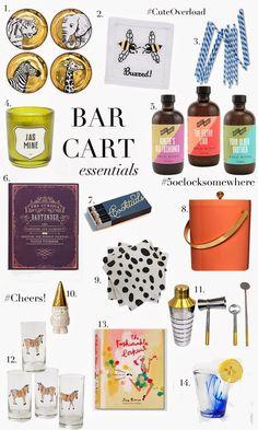 Top Bar Cart Essentials