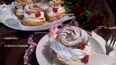 Képviselő fánk málnával Bacon, Cake, Desserts, Food, Kochen, Tailgate Desserts, Deserts, Mudpie, Meals
