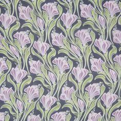 Jason Wu Regal Orchid/Wild Lime Floral Printed Silk Chiffon (moodfabrics)