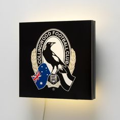 AFL Collingwood FC Wall Lamp #walllamps