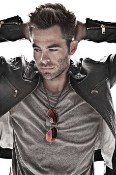 Chris Pine.  I love him. Totally love him. I really like him in The Princess Diaries with Ann Hathaway. He plays such a romantic