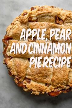 Celebrity chef Karen Martini shares a delicious apple pie recipe - serve warm out of the oven with a dollop of cream or ice cream. Apple Pie Recipes, Sweet Recipes, Vegan Recipes, Thanksgiving Recipes, Holiday Recipes, Dinner Recipes, Karen Martini Recipes, Cinnamon Pie, Celebrity Chef