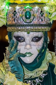 Carnaval 2014. Shades of green.