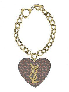 Natalie Hughes // Vintage YSL Bracelet // 2010