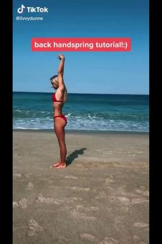 How To Do Gymnastics, Gymnastics For Beginners, Gymnastics Tricks, Gymnastics Skills, Amazing Gymnastics, Gymnastics Stuff, Cheer Workouts, Volleyball Workouts, Fitness Workouts