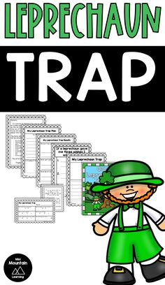 Patrick's Day activity for elementary grades. Have your students plan and create leprechaun traps for St. M Learning, Learning Resources, Classroom Activities, Activities For Kids, Leprechaun Trap, The Help, Coloring Pages, Have Fun, Give It To Me