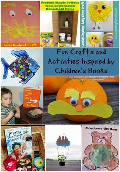 Crafts and Activities Inspired by Our Favorite Children's Books