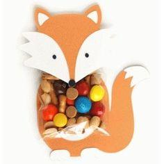 Silhouette Design Store: fox treat holder