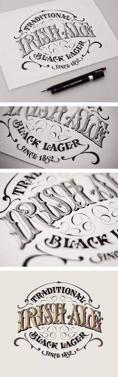 Irish Ale - Traditional Black Lager by Andreas Ejerfors
