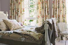 Tecidos Sanderson, colecção A Painters Garden. À venda na Nova Decorativa! #decoração #tecidos #homedecor #fabrics #Sanderson