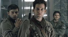 Eion Bailey from Band of Brothers, Covert affairs, and yes he is in Once upon a time Eugene Roe, Eion Bailey, Hero Tv Show, Tv Band, Ron Livingston, 1990s Music, Company Of Heroes, Covert Affairs, Damian Lewis