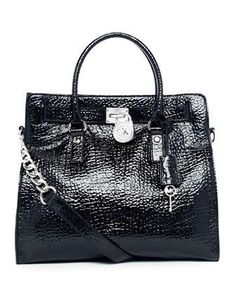 MICHAEL Michael Kors Hamilton Large Pebbled Patent Tote....someone please get this for me!
