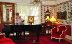 """The baby grand piano from """"Somewhere in Time"""", at the Chateau Lorraine B!"""