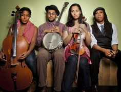 """The Carolina Chocolate Drops: This pin links to a Live Set Youtube video of one of the most extraordinary things I have ever heard. There is nothing Rhianna Giddens, the lead singer, cannot do. """"Country Girl"""" at 22:43 is an anthem for the rural south."""