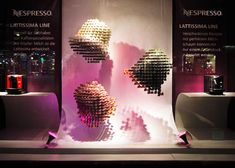 Nespresso Window Display Hamburg