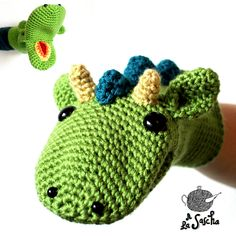 Ravelry: Dragon Puppet pattern by A la Sascha