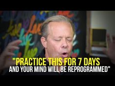 Joe Dispenza shares 3 powerful Techniques to Reprogram the Mind days challenge) ►►►This video was uploaded with the permission of the owner. Masters In Psychology, 7 Day Challenge, Mental Training, Brain Training, Meditation, Neuroplasticity, Mind Power, Subconscious Mind, Youtube