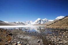 Gurudongmar Lake, North Sikkim India by S.R.C, via Flickr