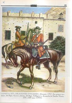 Dragoni angielscy 1707
