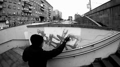 Rasko / the video. Graffiti from Russia.  Good video can't listen to the music