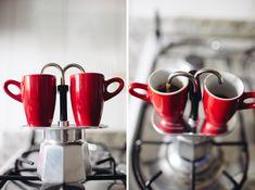 Bialetti mini express moka stovetop espresso maker.  Love this thing.