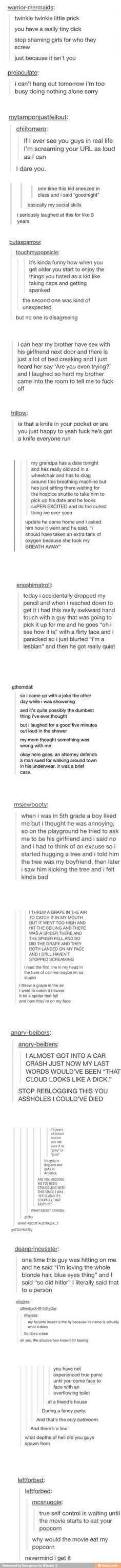 Im in love with this, i laughed too hard at some of these: