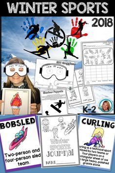 Are you looking for activities to help teach about the Winter Olympics in 2018? These will help!