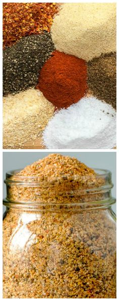 Homemade Montreal Steak Spice ~ Less expensive plus you control the salt level... A recipe for one of the most popular seasoning blends in Canada that you can easily make at home.