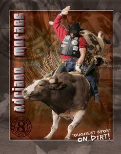 PBR. Bull riding. 3X WORLD CHAMPION BULL RIDER