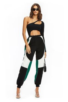 PRE-ORDER ELECTRA PANT - GREEN (SHIPPING MID JULY)