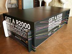 Sony Bravia stand using UV inkjet printed X-Board by Xanita.com, via Flickr