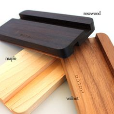 Recycled Wood Furniture, Diy Furniture, Maple Walnut, Cell Phone Stand, Media Storage, Desktop Organization, Tablet Stand, Wood Cutting Boards, Docking Station