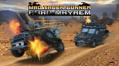 Mad Truck Gunner: Road Mayhem - Jump on your monster truck, race through enemy traffic, collect awesome power-ups, shoot your opponents and upgrade your vehicle! Have a blast, guys! You Monster, Monster Trucks, Who's The Daddy, Armored Vehicles, Google Play, Games To Play, Video Games, Mad, Racing