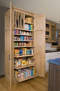 Custom Pantry . Schrock Cabinets, Shaker Furniture, Mission Furniture.  Http://
