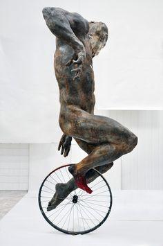 poeticasvisuais:Grzegorz Gwiazda, Cyclist !!!!