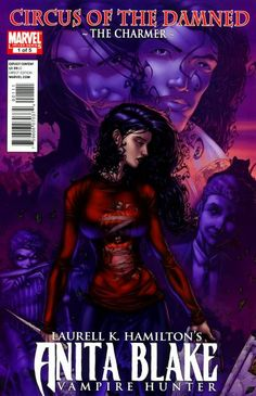 Anita Blake, Vampire Hunter: Circus of the Damned - The Charmer (Volume) - Comic Vine