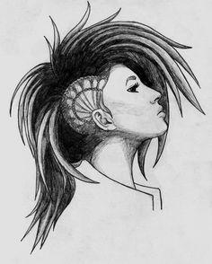 Punk Girl by Anghellic67.deviantart.com on @deviantART