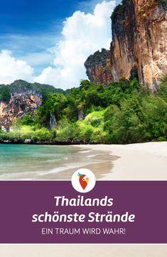 Hier findest du die schönsten Strände in Thailand. Wir haben viele Geheimtipps für Strände, Unterkünfte oder aber auch für das Reisen mit Kindern. #Thailand #Urlaub #Strandurlaub