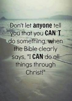 All things are possible through Jesus Christ our Lord.my Lord. Life Quotes Love, Quotes About God, Faith Quotes, Bible Quotes, Quotes To Live By, Me Quotes, Religious Quotes, Spiritual Quotes, Beautiful Words