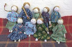 Зарисовка о деревне и куклах