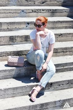 Casual dusty pink 4- outfit - DoYouSpeakGossip.com