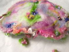 felted wool journal art book   enchanted forest by beautifulplace, $54.00